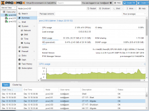 Proxmox VE - COMMUNITY Subscription 1 CPU/Year-VE Community 1CPU