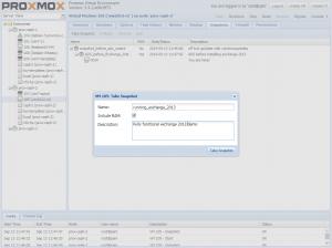 Proxmox Schedule Snapshots