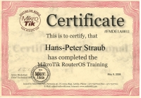 MikroTik MTCNA Training