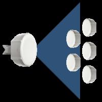SXT sixpack (5pcs SXT-5HPnD + 1pcs RBSXTG-5HPnD-SAr2)
